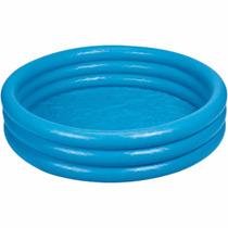 Piscina Inflavel Intex 500 Litros Azul Redonda 1.68m