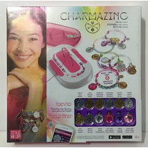 Charmazing Kit De Lujo Para Crear 6 Pulseras Modelo Rosa