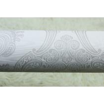 Papel De Parede Texturizado Arabesco Com Brilho/gliter 5157