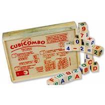 Juego Didáctico Cubi Combo Letras Y Números