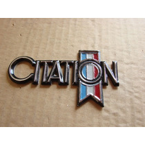 Chevrolet Citation - Emblema Lateral