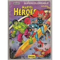 Comic Para Iluminar Marvel Thor Hulk Ironman Forum De 1983