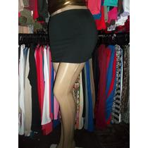 403 Pollera Corta De Modal Para Dama Talle Unico