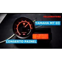 Conserto Painel Yamaha Mt 03