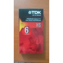 Cinta Vhs T-120 Tdk Premium Quality