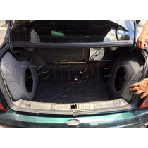 Caixa De Fibra Lateral Reforçada Corsa Sedan Classic - O Par