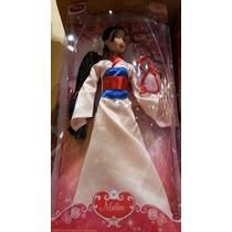 Mulan Con Mushu Disney Store 2016 Princesas Barbie
