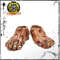 Disfraz Pies De Zombie Para Halloween
