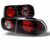 Lanterna Altezza Black Honda Civic 1992 1993 1994 1995 O Par