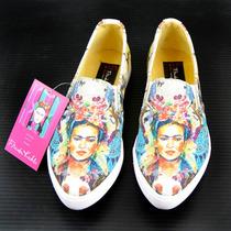 Frida Kahlo Calzado 100% Original 3