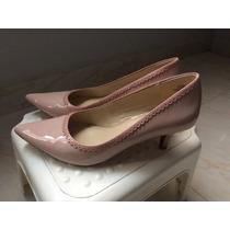 Zapatos Taco Mujer Rosa Anne Klein Talla 36.5 A 37