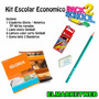 Kit / Set / Combo Escolar 4 Piezas