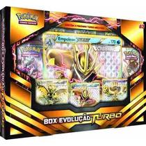Box Pokémon Box Evolução Turbo Copag Cards Original Lacrado
