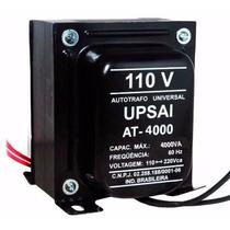 Transformador 4000va 2800watt Potência 110/220/220/110 Upsai