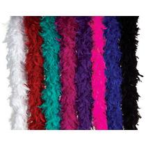 Bufanda De Plumas - Moda Púrpura Disfraz Traje