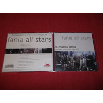 Fania All Stars - La Musica Latina Cd Nac Ed 2000 Mdisk
