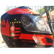 Capacete Jd2 Flamengo Helmets Fosc0