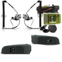 Kit Vidro Eletrico Palio G3 C/ Modulo Inteligente