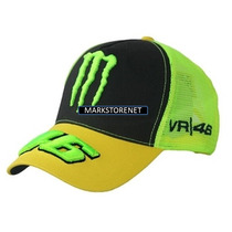 Gorra Monster Moto Gp Vr746
