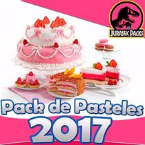 Mega Pack Como Hacer Pasteles De Fondant, Decorados Faciles