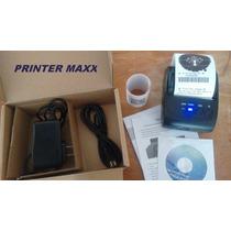 Mini Impressora Portátil Bluetooth 58mm P/ Vendedores Ambula