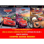 Cars Carros Mcqueen Para Play 2 (kit 3 Jogos Ps2
