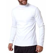 Camisa Gola Role Com Proteção Solar Uv 50+ Manga Longa