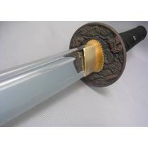 Katana Iaito Para Practica Cuchilla De Aluminio Fulltang