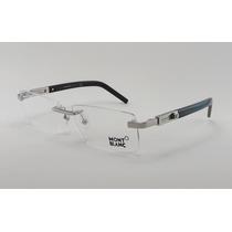 Armação Óculos Grau De Grau Sem Aro Mont Blanc 398