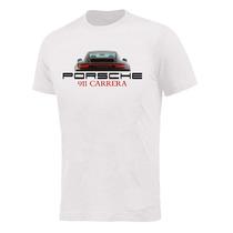 Camiseta Algodão Malha T-shirt Porsche911 Careira #ts-0009