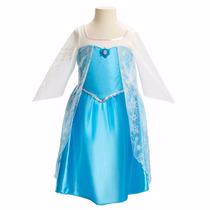Disfraz Vestido Frozen Y Princesas - Nuevos - Talla 4-6