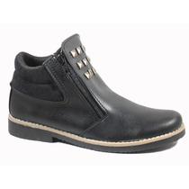 Borcego Mujer Zapato Tachas Invierno Goma Crepina 110