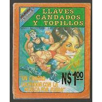 Sensacional Luchas Llaves Candados Comics Mexicanos Años 90s