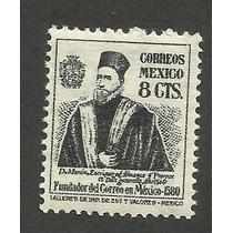Estampilla México 1946 Fundador Del Correo En México. Lbf