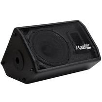 Caixa Monitor Retorno Ativo 10 Af 100w Rms Master Audio