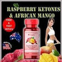 Raspberry Ketones Con Mango Africano Potente Quema Grasa
