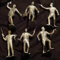 Marx Plastimarx Colección De 6 Muñecos Villanos De Cipol Vbf