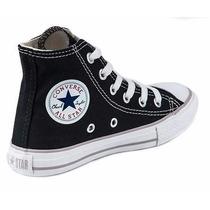 Converse All Star Bota Negra De Bebe Del 20 Al 26