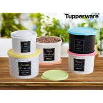 Tupperware 7 Caixas Para Armazenar Conservar Mantimentos