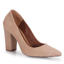 Sapato Scarpin Feminino Desmond - Nude