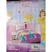 Juego De Sabana De Princesas Para Niñas