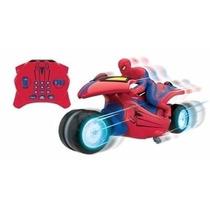 Moto Spiderman De Kreisel Con Luces Y Sonidos