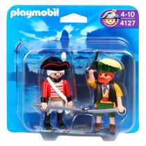 Playmobil Dúo Pirata Y Soldado C/accesorios 4127 La Horqueta