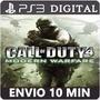 Call Of Duty 4 Modern Warfare Ps3 Código Psn Original
