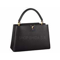 Bolsa Louis Vuitton Capucines Piel 100%original Factura Caja