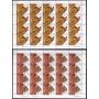 2003 Mercosur Artesanías Indigenas Planchas Mint U$24