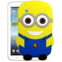 Capa Minions Silicone Tablet Sam Galax Tab P3100 P3110 P3113