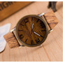 Reloj Imitación Madera,exclusivo Ilusion Of Time