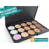 Paleta Correctores 15 Tonos Mac Todo Maquillaje Compactos