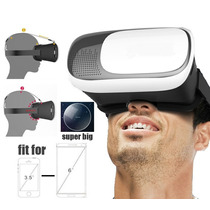 Vr Box Lentes Realidad Virtual 3d Gear Iphone 6 Android Plus